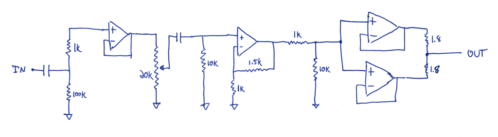 SABAJ PHA1 single channel circuit